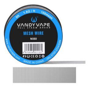 VandyVape Mesh Wire Ni80 100mesh 150cm