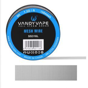 VandyVape Mesh Wire SS316L 200mesh 150cm
