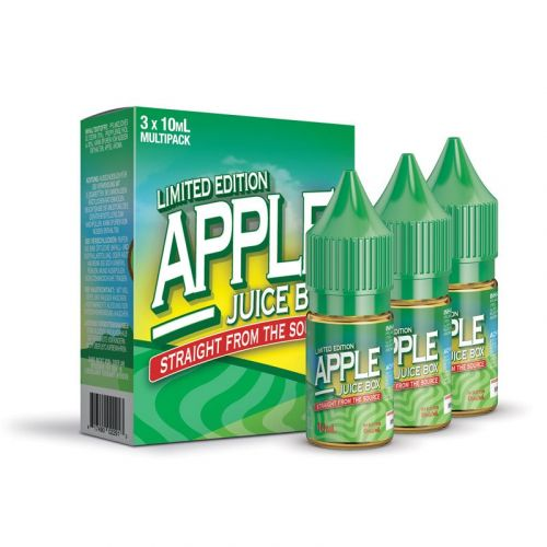 Mad Hatter - Apple Juice Box Nikotin-Liquid - 3 x10 ml