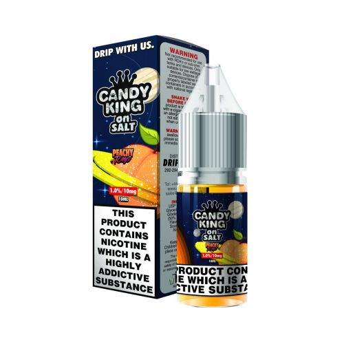 Candy King - Peachy Rings - 10ml Liquid (20mg Nik-Salz)