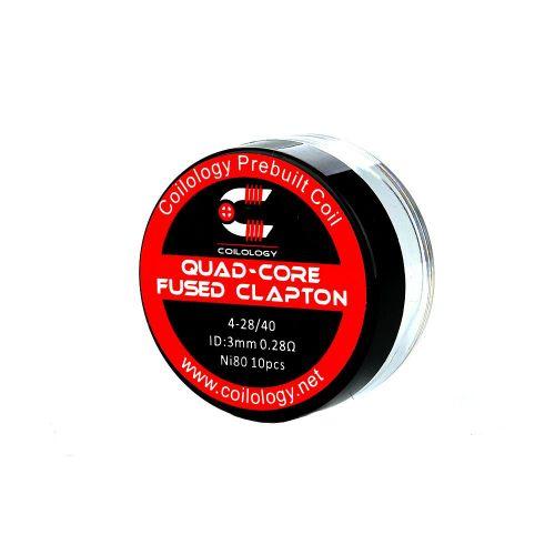 Coilology Quad Core Fused Clapton Coils 10 Stk