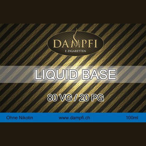Dampfi Liquid Base 100 Ml 80VG/20PG