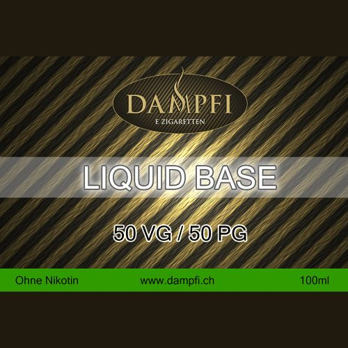 Dampfi Liquid Base 100 Ml 50VG/50PG