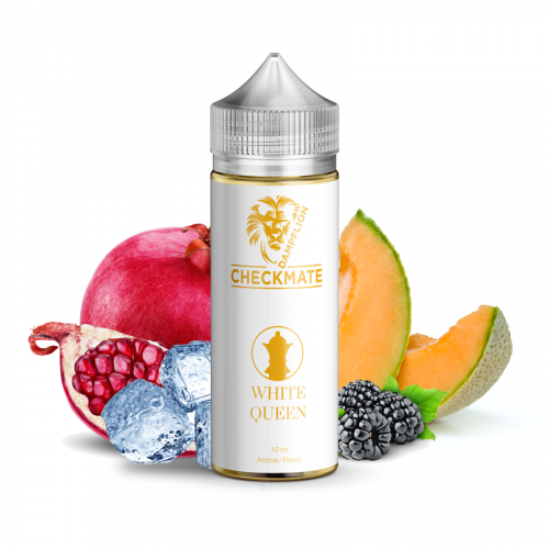 Dampflion Checkmate - White Queen - 10/120ml Longfill Aroma