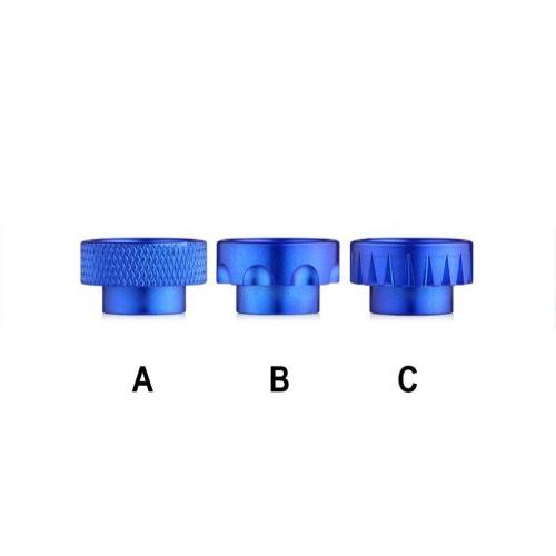 DripTip 308 - Aluminium Blau