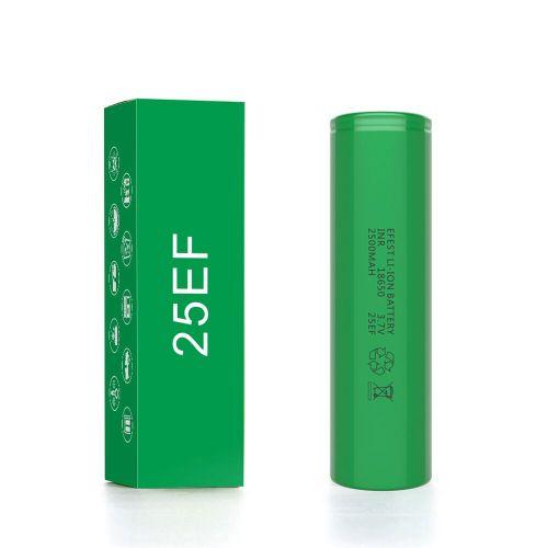 Efest 18650 2500mah 25EF 25A Batterie