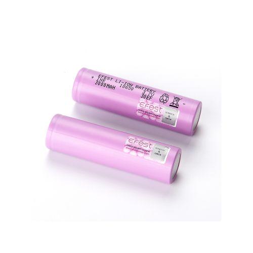 Efest 18650 3000mah 30EF 30A Batterie