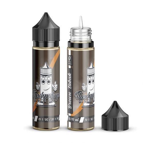 Flaschendunst - Brown Tabak - 50/60ml Shortfill Liquid