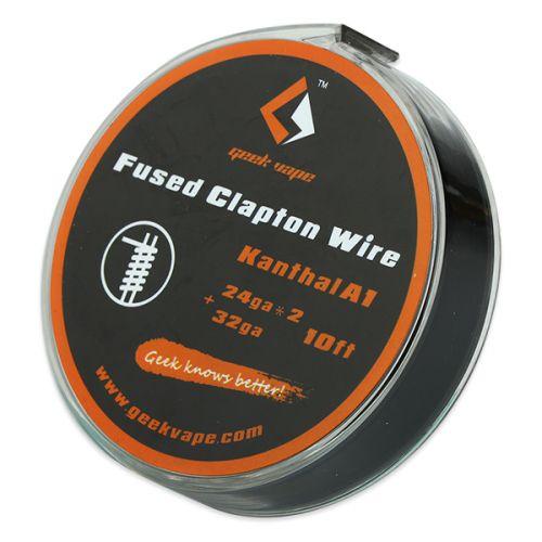 GeekVape Kanthal A1 Fused Clapton Draht, 24GAx2+32GA