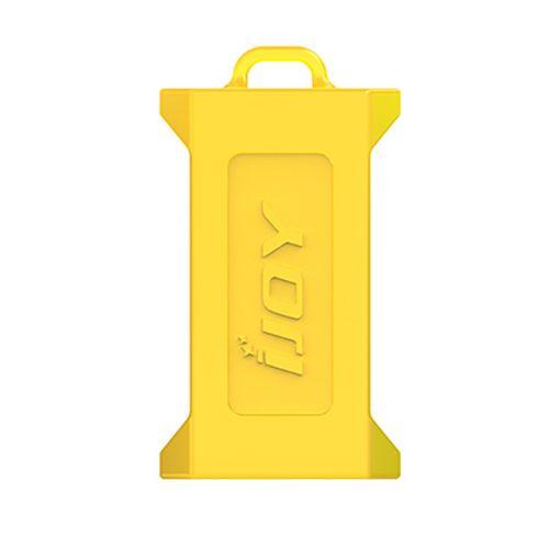 Batterie Case für 2x 21700er Batterien - Gelb