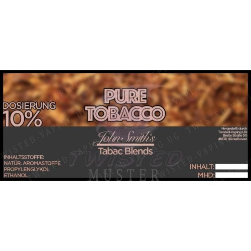 John Smith´s Blended Tobacco Flavor - Pure Tobacco