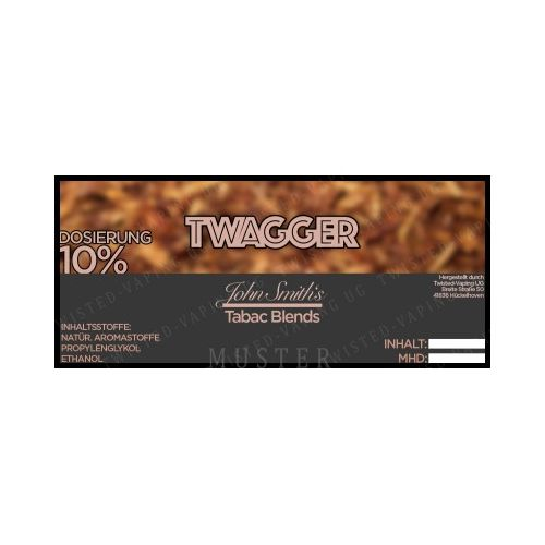 John Smith´s Blended Tobacco Flavor - TWAGGER