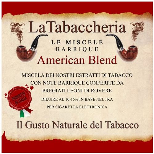 La Tabaccheria - Miscela Barrique - American Blend - 10ml Aroma