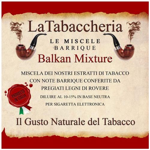 La Tabaccheria - Miscela Barrique - Balkan Mixture - 10ml Aroma
