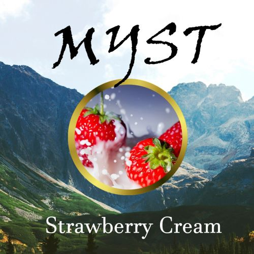 Myst - Strawberry Cream - 20/30ml Shortfill Liquid