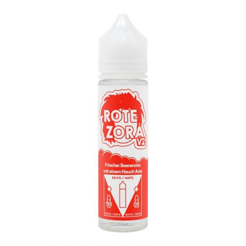 Tante Dampf - Rote Zora V2 Liquid
