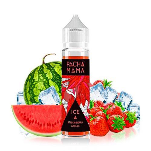 Pachamama - Strawberry Jubilee Ice - 50/60ml Shortfill Liquid