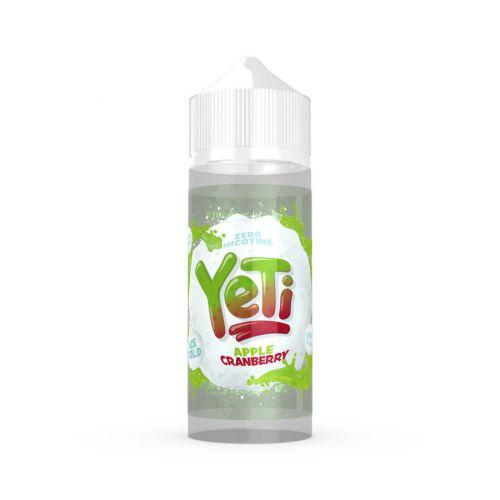 Prohibition Vapes YETI - Apple Cranberry - 100/120ml Shortfill Liquid