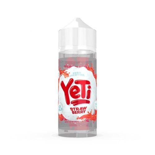 Prohibition Vapes YETI - Strawberry - 100/120ml Shortfill Liquid