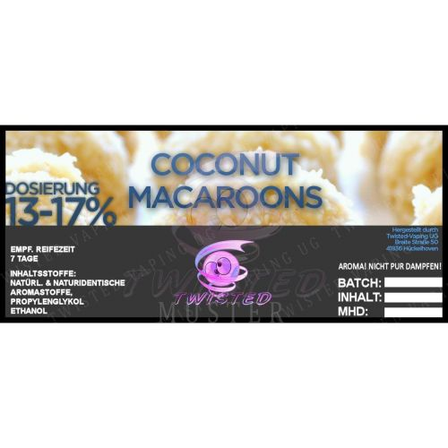 Twisted - Coconut Macaroons