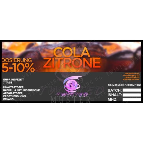 Twisted - Cola-Zitrone