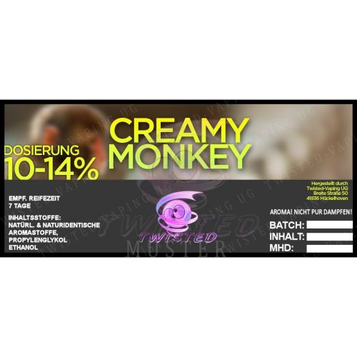 Twisted - Creamy Monkey