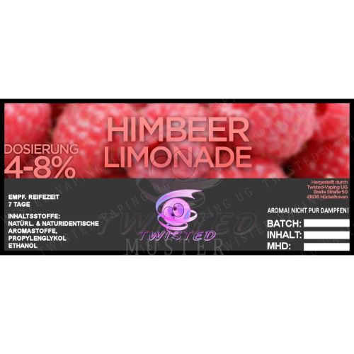 Twisted - Himbeer-Limonade