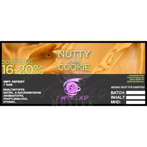Twisted - Nutty Bobby Cookie