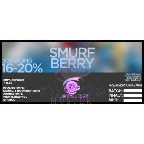 Twisted - Smurfberry