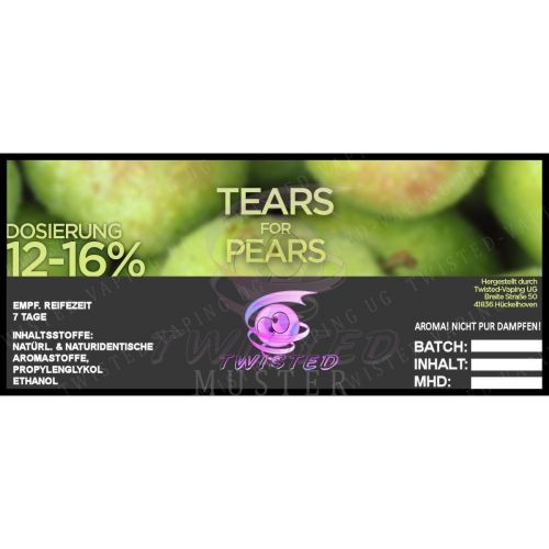 Twisted - Tears for Pears