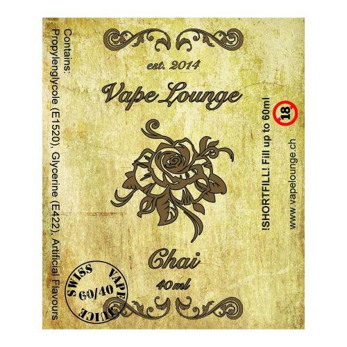 Vapelounge Premium - Chai - 40/60ml Shortfill Liquid