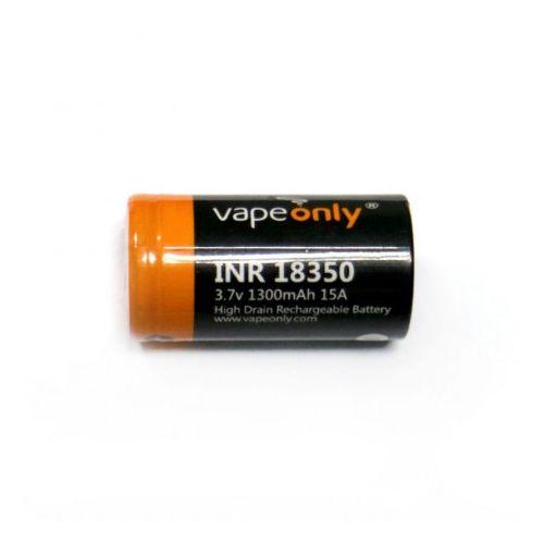 VapeOnly INR 18350  1100mAh 15A Batterie