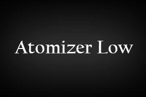 Atomizer Low Hilfe Blog