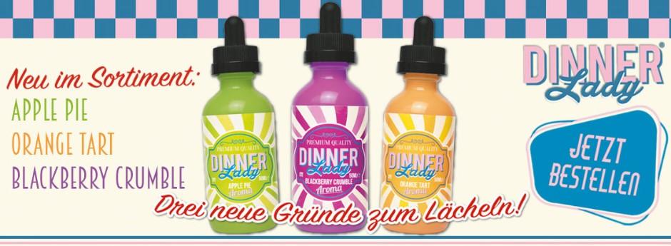 Dinner Lady neue Liquids