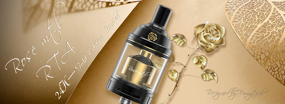 Fumytech Rose MTL RTA Gold Edition