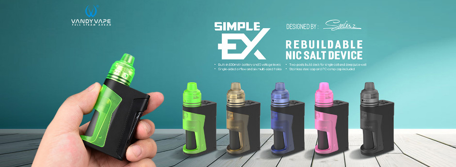 Vandy Vape Simple EX Squonker Set