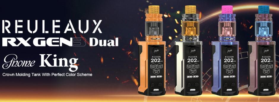 Wismec Reuleaux RX GEN3 Dual - Gnome King Set