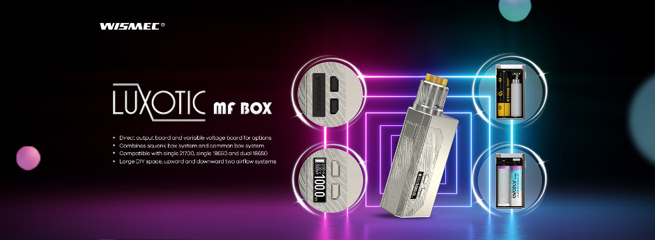 Wismec Luxotic MF - Guillotine V2 Set