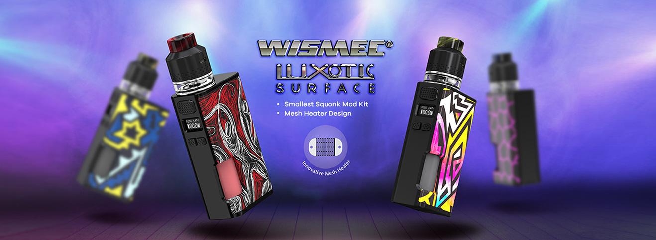 Wismec Luxotic Surface - Kestrel Set