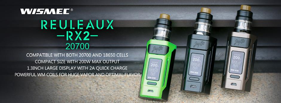 Wismec Reuleaux RX2 20700 - Gnome Set