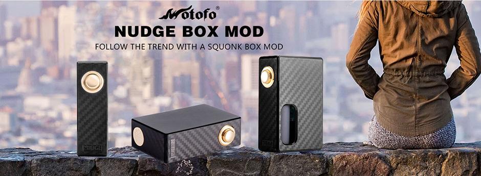 Wotofo NUDGE Squonk Mech Mod