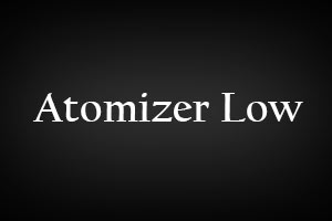Atomizer Low Hilfe Blog