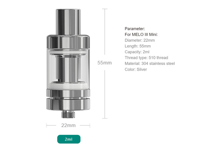eLeaf iStick Pico Melo 3 Mini Set