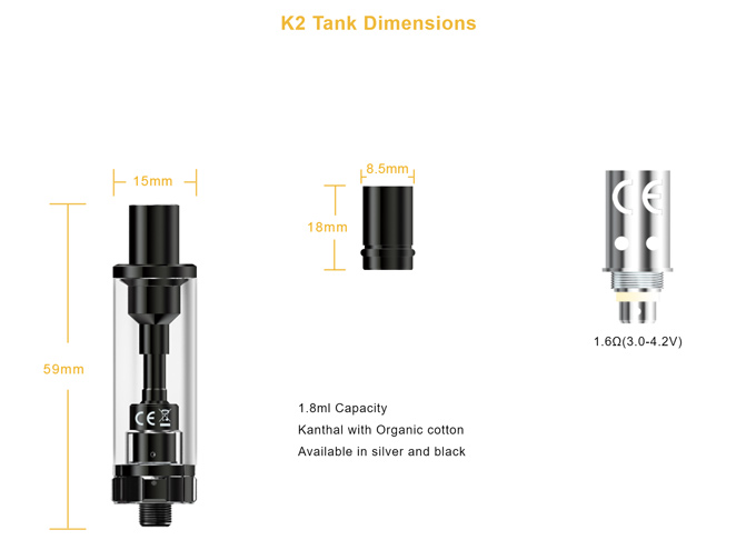 Aspire K2 Set Kit 01